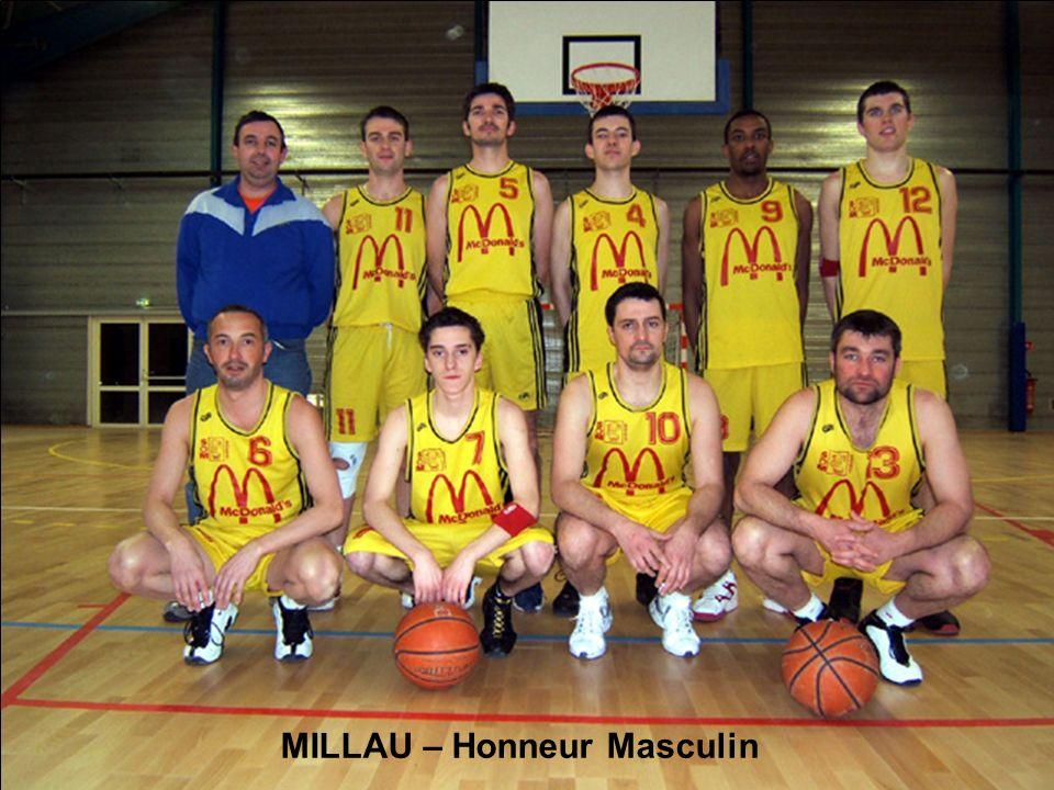 MILLAU – Honneur Masculin