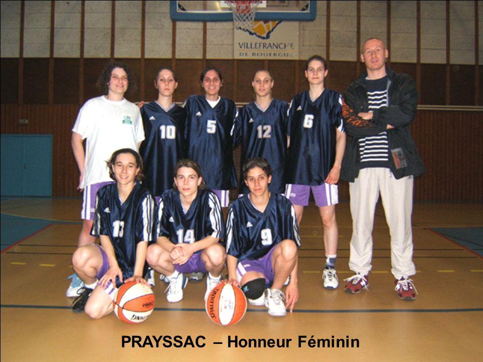 PRAYSSAC – Honneur Féminin