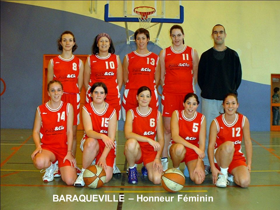 BARAQUEVILLE – Honneur Féminin