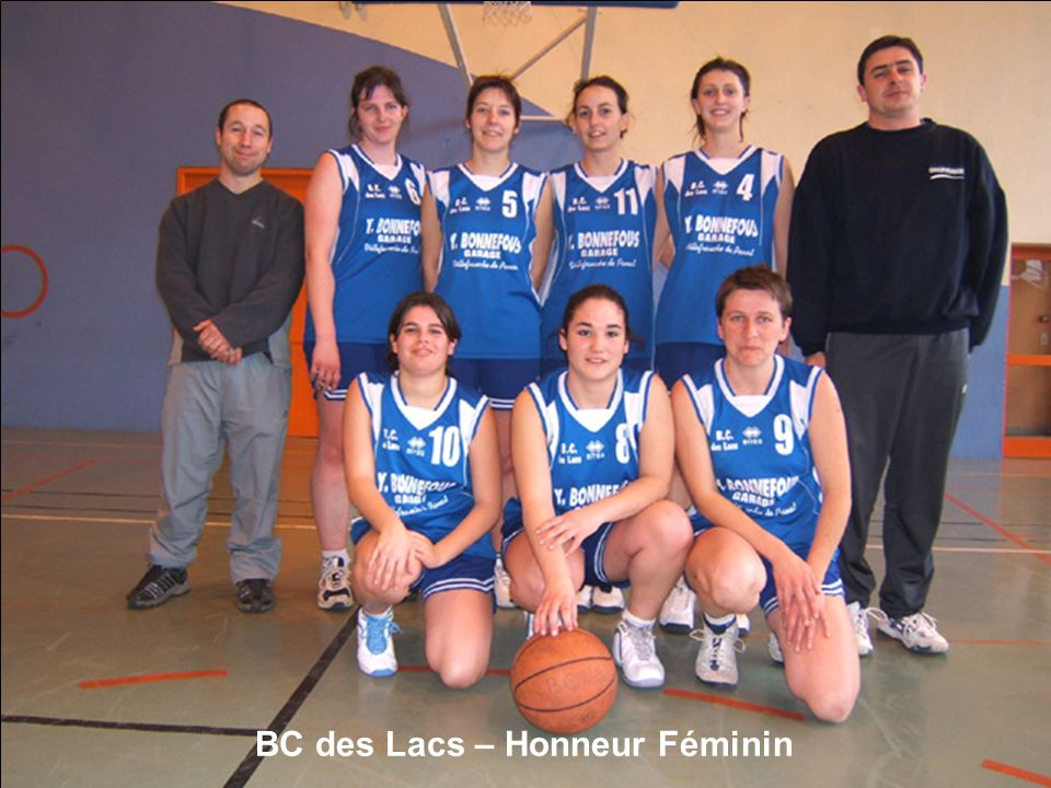 BC des Lacs – Honneur Féminin