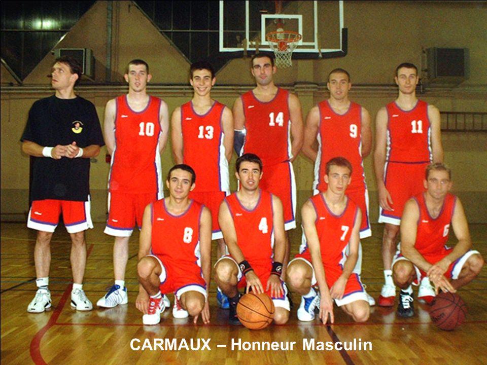 CARMAUX – Honneur Masculin