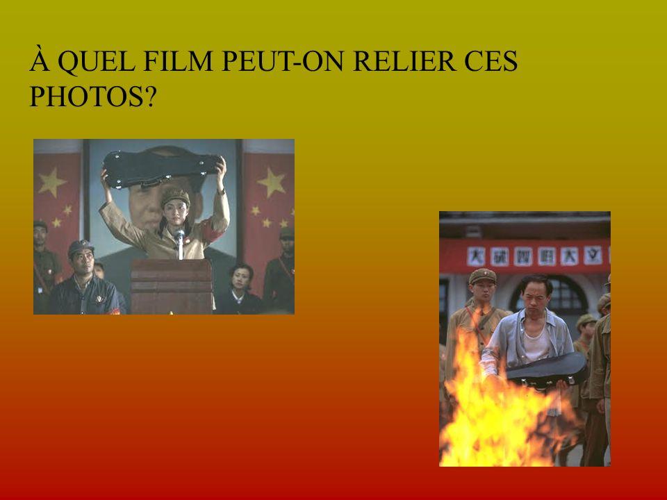 À QUEL FILM PEUT-ON RELIER CES PHOTOS