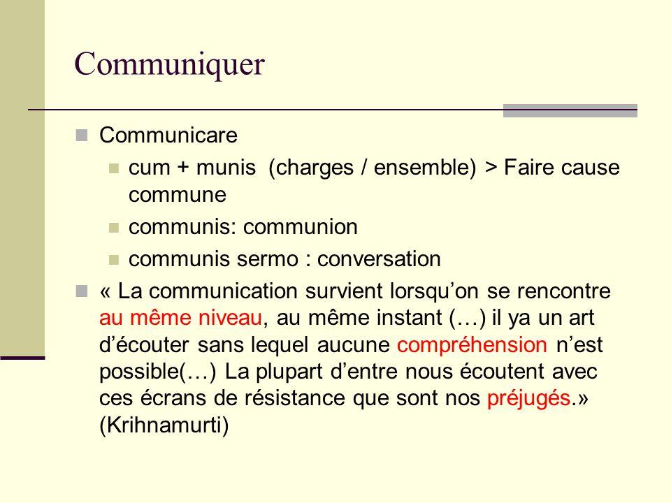 Communiquer Communicare