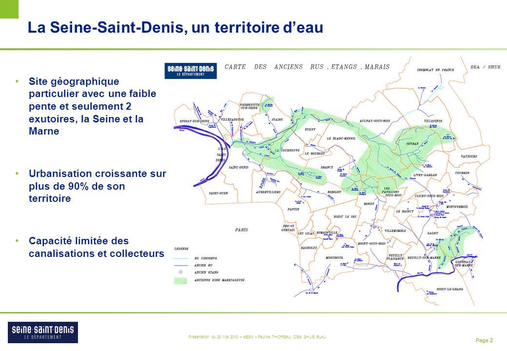 La Seine-Saint-Denis, un territoire d'eau