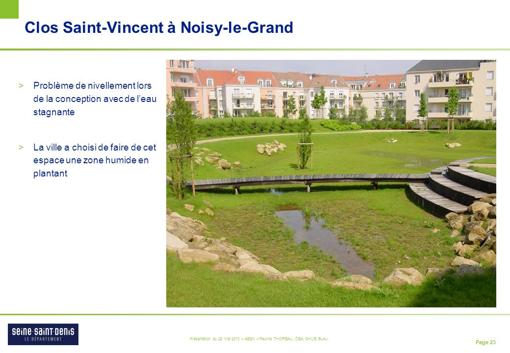 Clos Saint-Vincent à Noisy-le-Grand