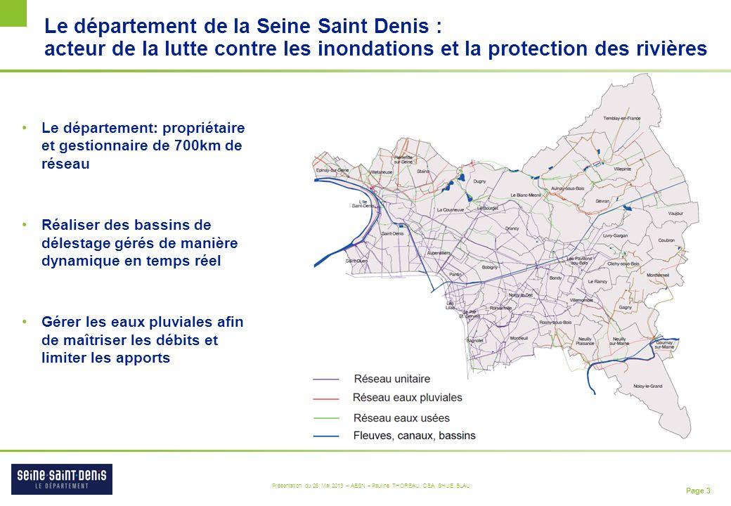 Le département de la Seine Saint Denis : acteur de la lutte contre les inondations et la protection des rivières