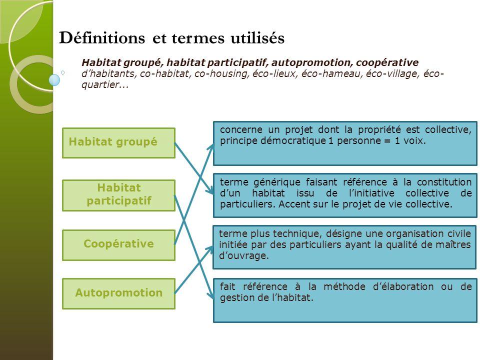 Définitions et termes utilisés
