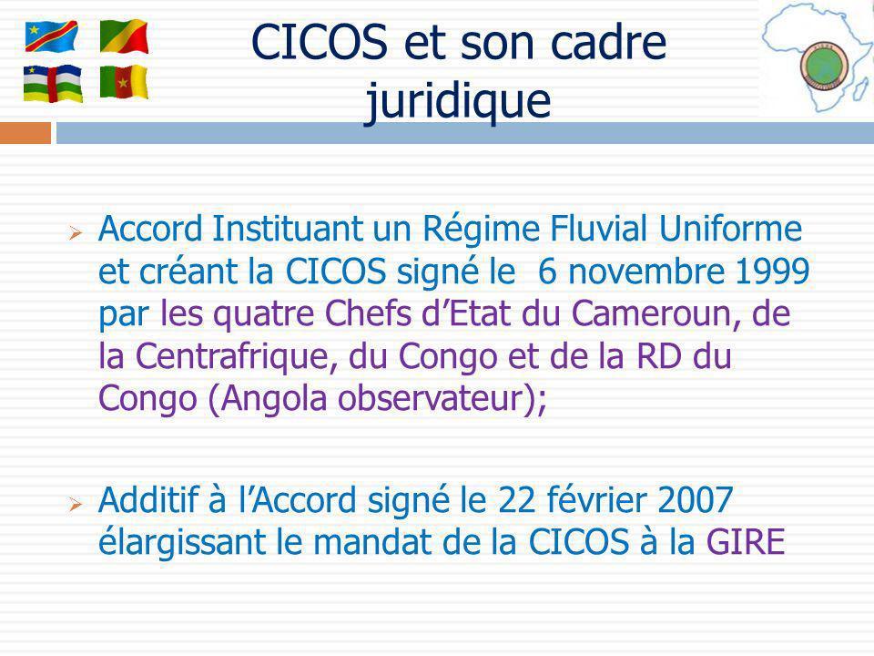 CICOS et son cadre juridique