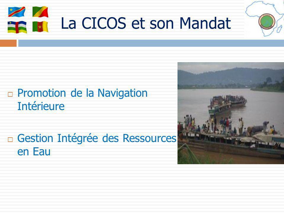 La CICOS et son Mandat Promotion de la Navigation Intérieure