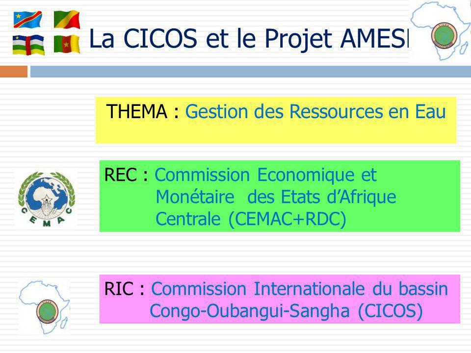 La CICOS et le Projet AMESD