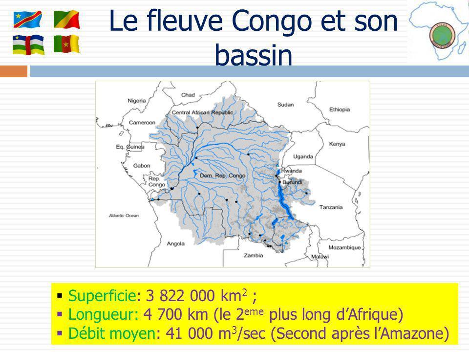 Le fleuve Congo et son bassin