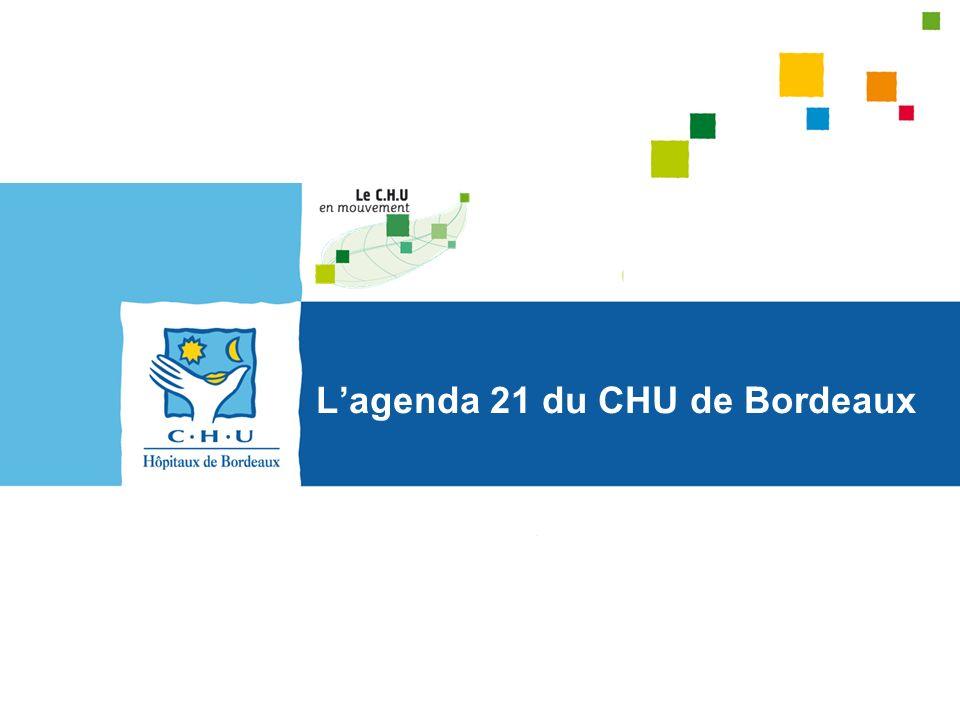 L'agenda 21 du CHU de Bordeaux