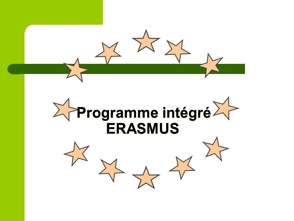 Programme intégré ERASMUS