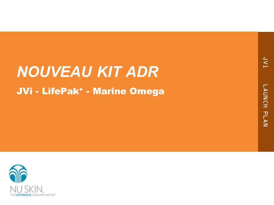 NOUVEAU KIT ADR JVi - LifePak+ - Marine Omega