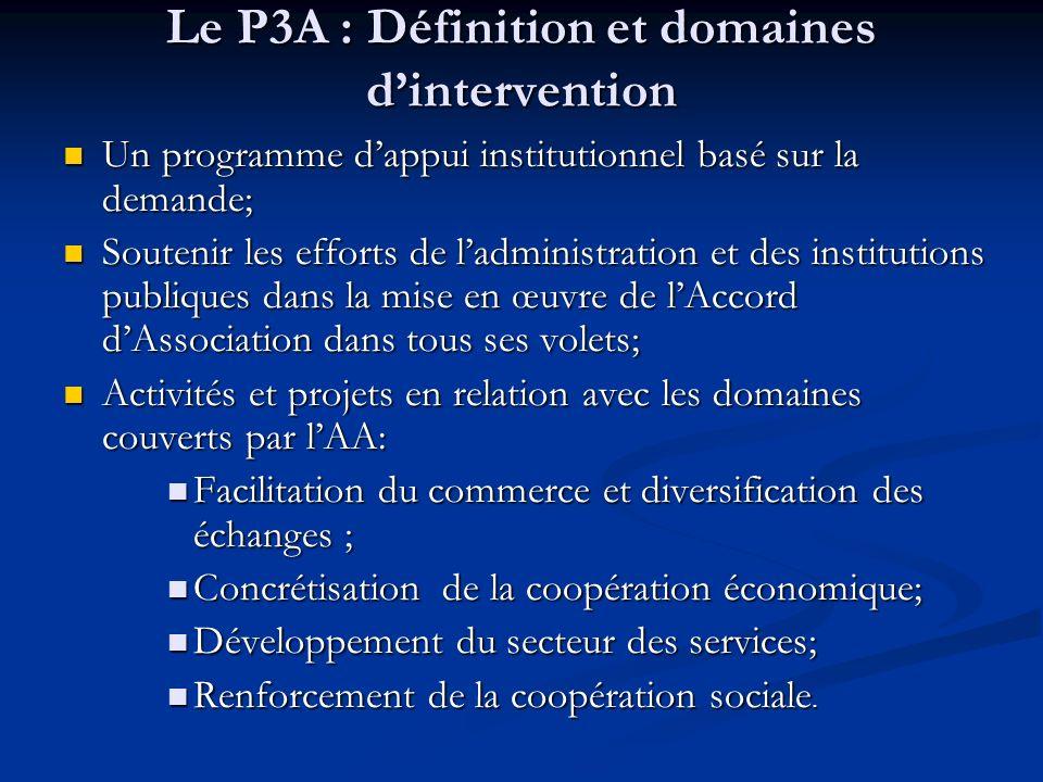 Le P3A : Définition et domaines d'intervention