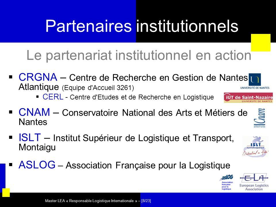 Partenaires institutionnels