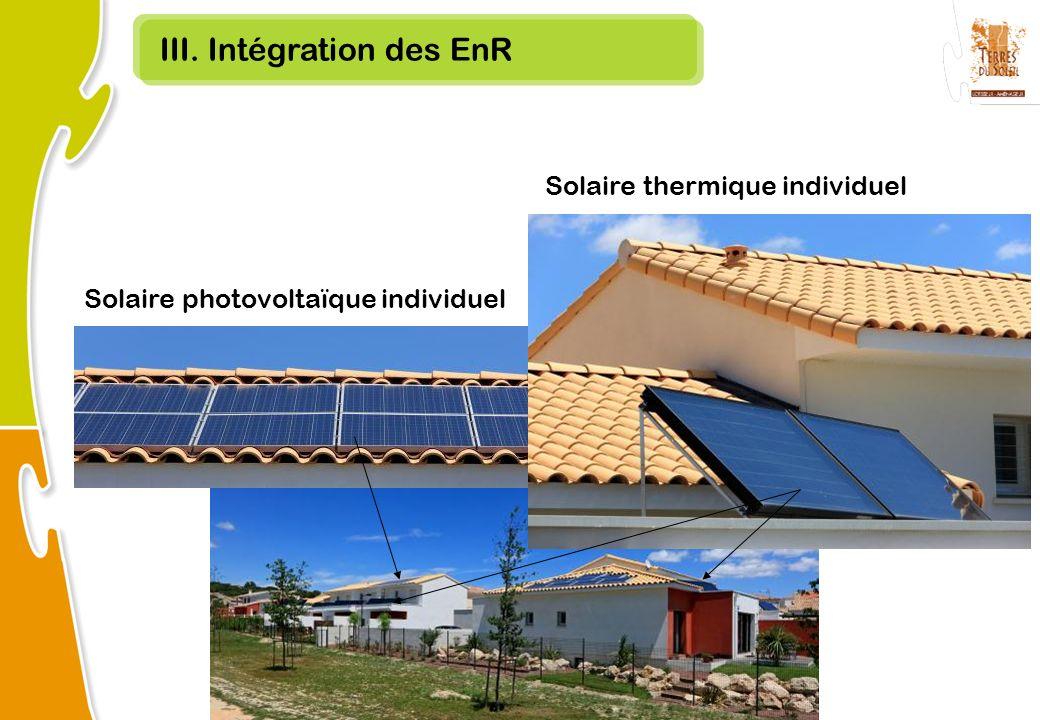 III. Intégration des EnR