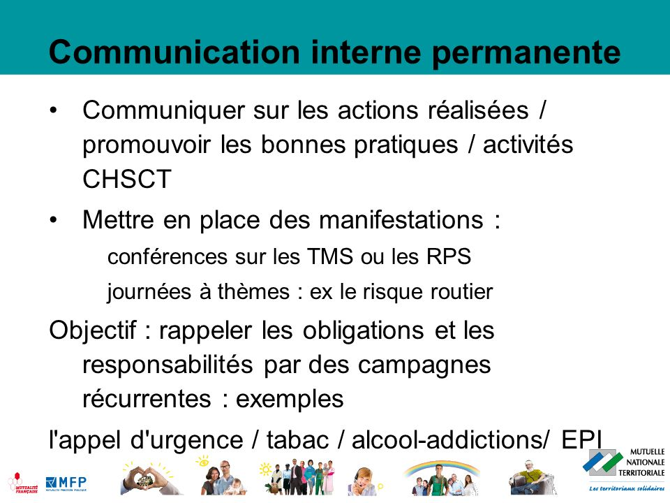 Communication interne permanente