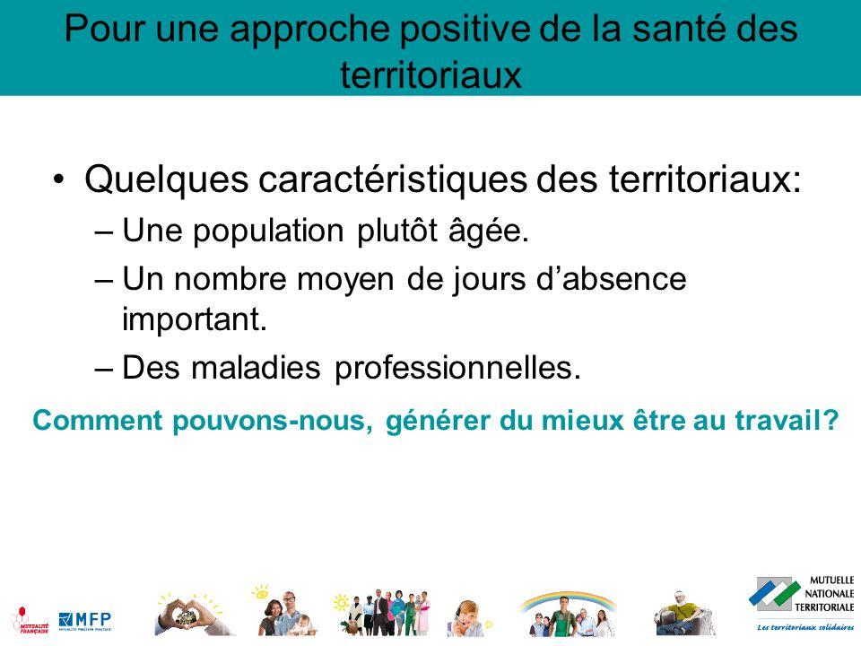 Pour une approche positive de la santé des territoriaux