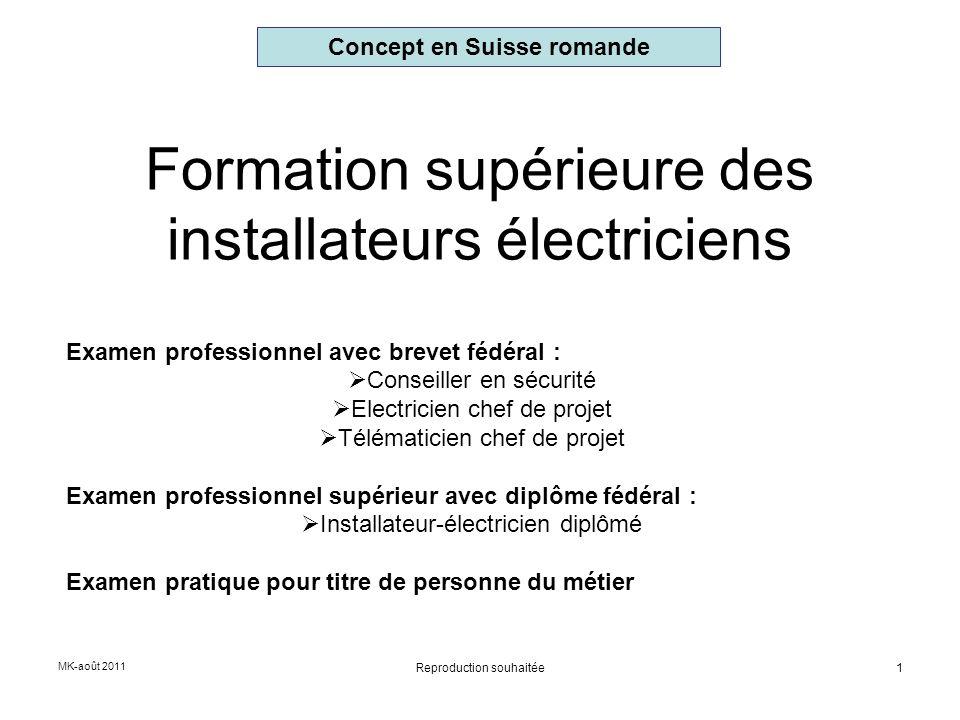 Formation supérieure des installateurs électriciens