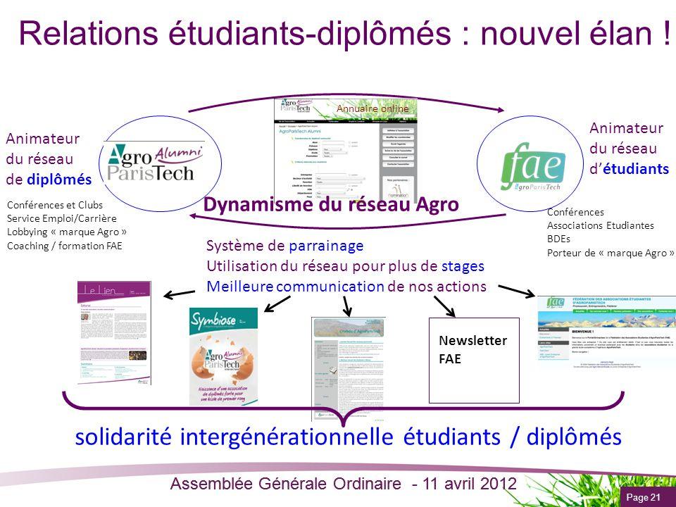 Relations étudiants-diplômés : nouvel élan !