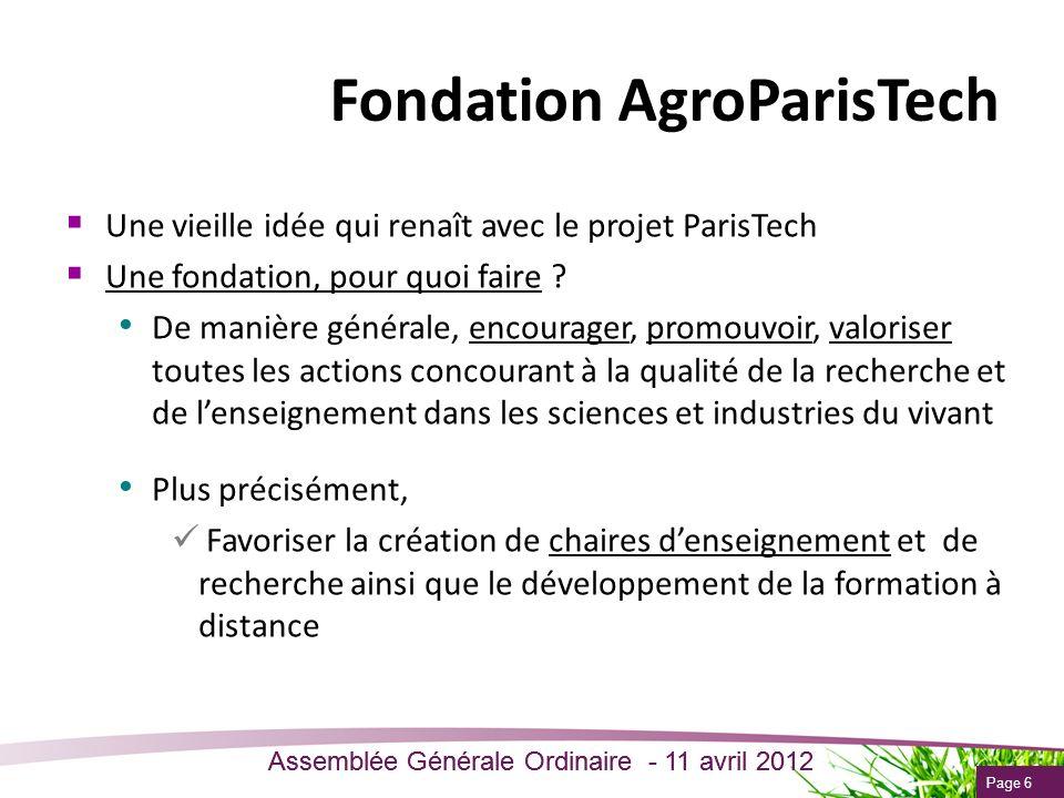 Fondation AgroParisTech