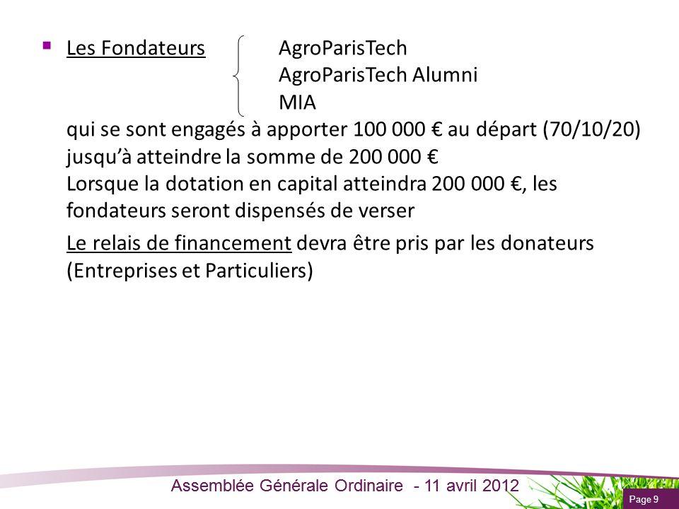 Les Fondateurs. AgroParisTech. AgroParisTech Alumni