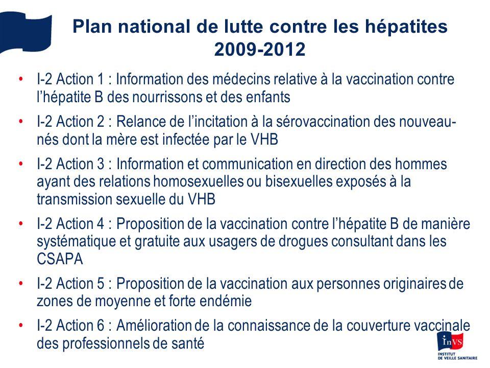 Plan national de lutte contre les hépatites 2009-2012
