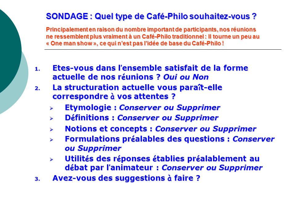 SONDAGE : Quel type de Café-Philo souhaitez-vous