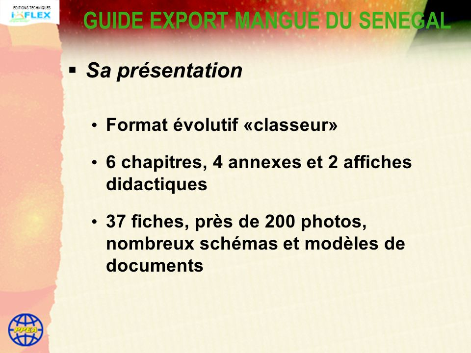 GUIDE EXPORT MANGUE DU SENEGAL