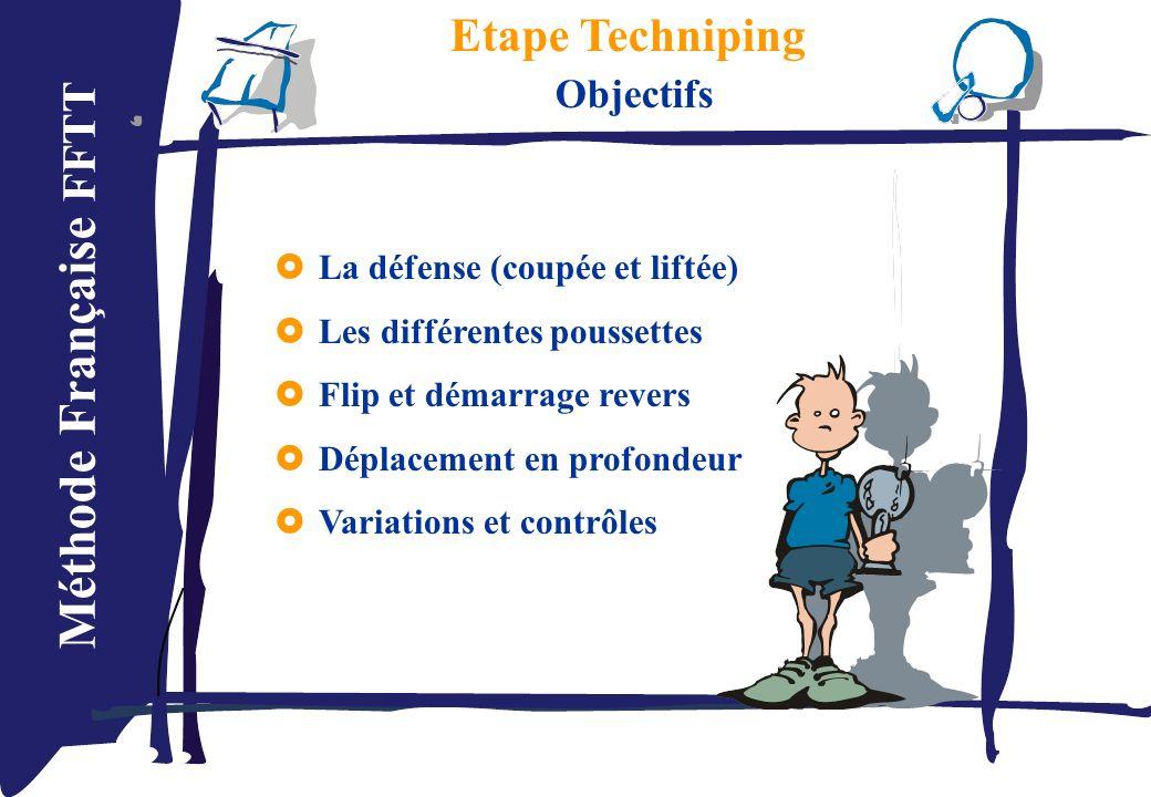 Etape Techniping Objectifs