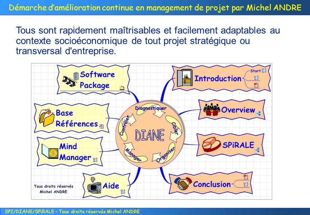 Tous sont rapidement maîtrisables et facilement adaptables au contexte socioéconomique de tout projet stratégique ou transversal d entreprise.