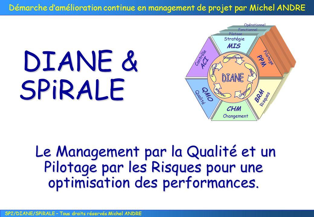 DIANE & SPiRALE Le Management par la Qualité et un Pilotage par les Risques pour une optimisation des performances.