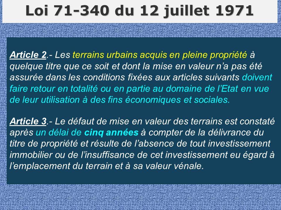 Loi 71-340 du 12 juillet 1971