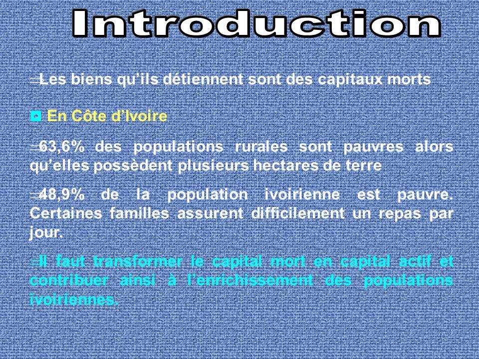 Introduction ◘ En Côte d'Ivoire