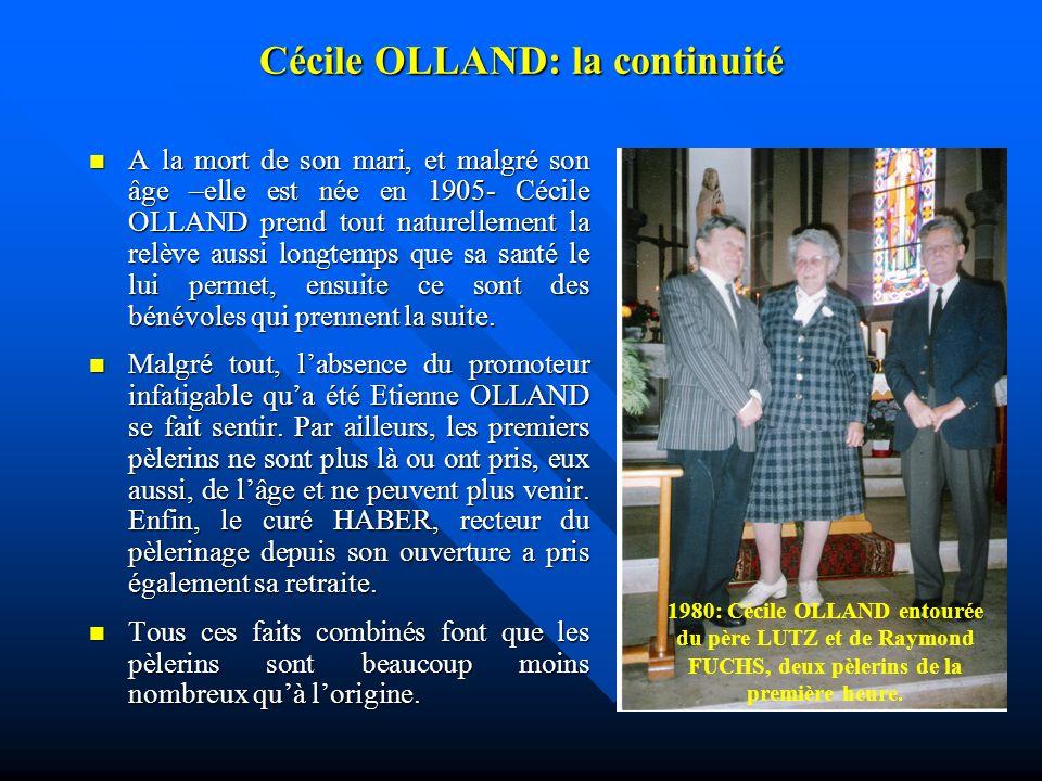 Cécile OLLAND: la continuité