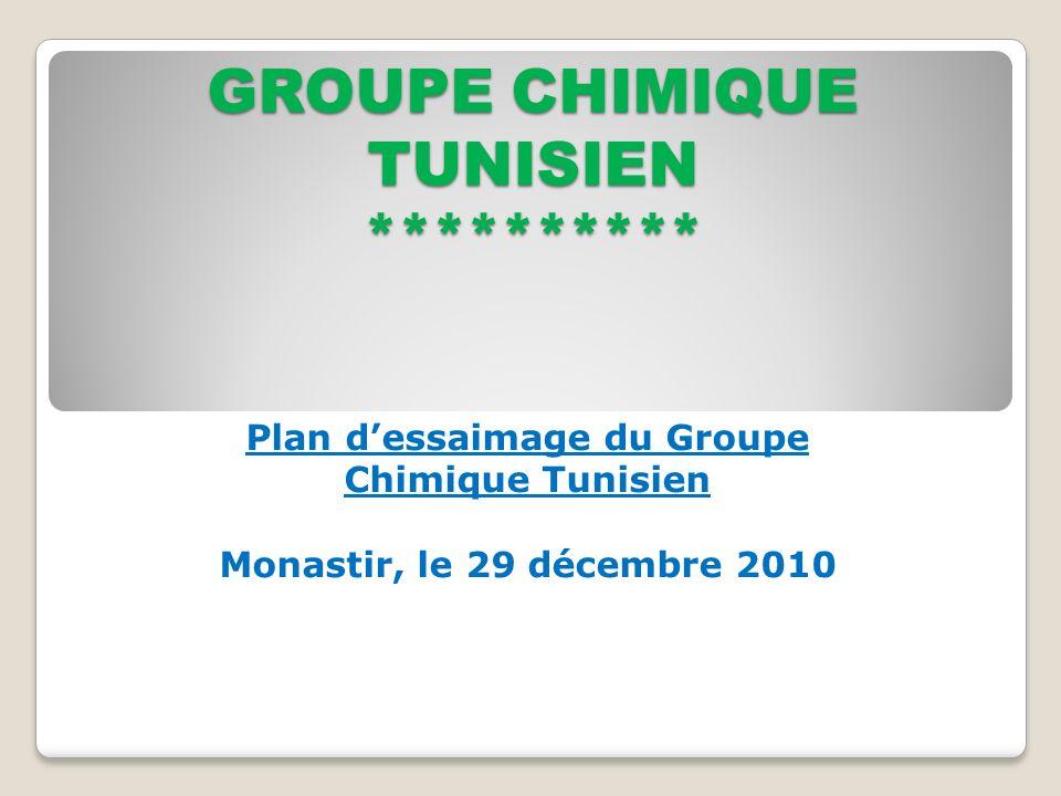 GROUPE CHIMIQUE TUNISIEN **********