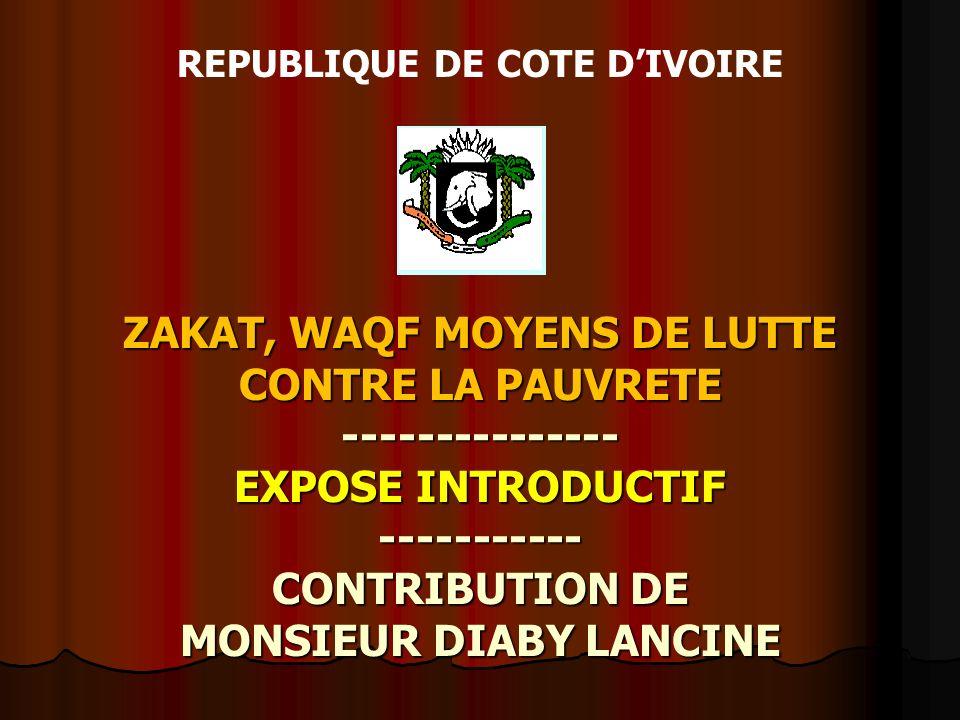 REPUBLIQUE DE COTE D'IVOIRE