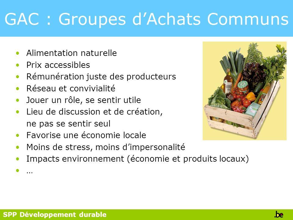 GAC : Groupes d'Achats Communs