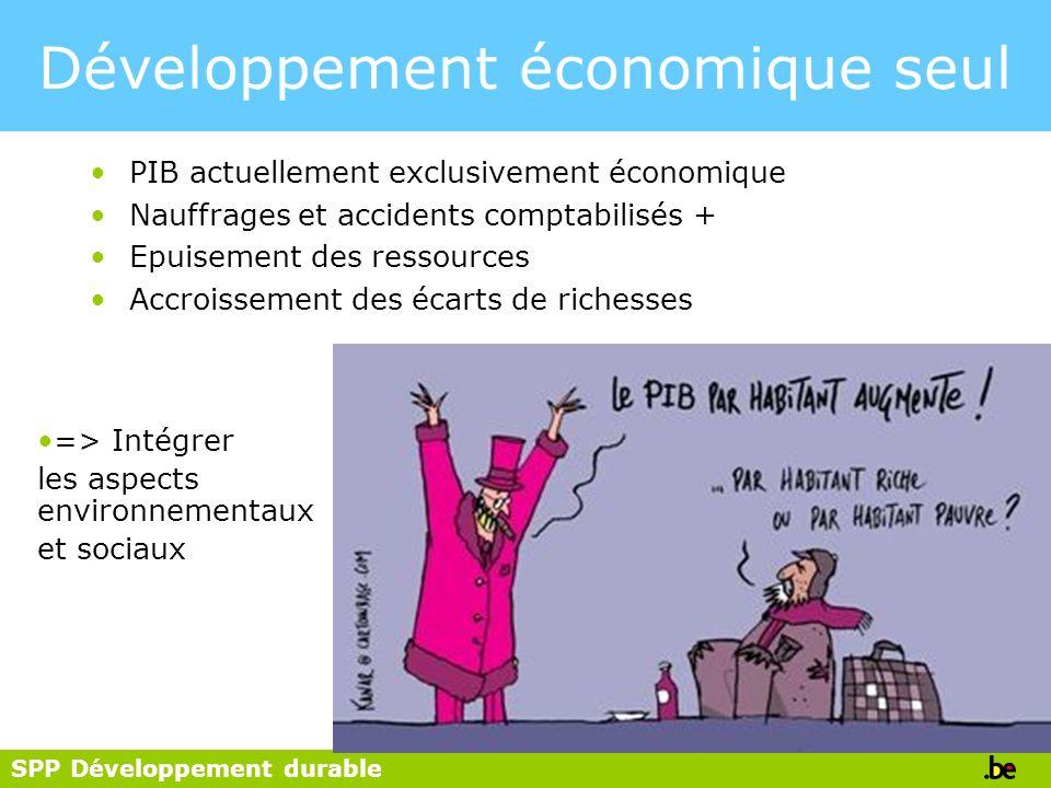 Développement économique seul