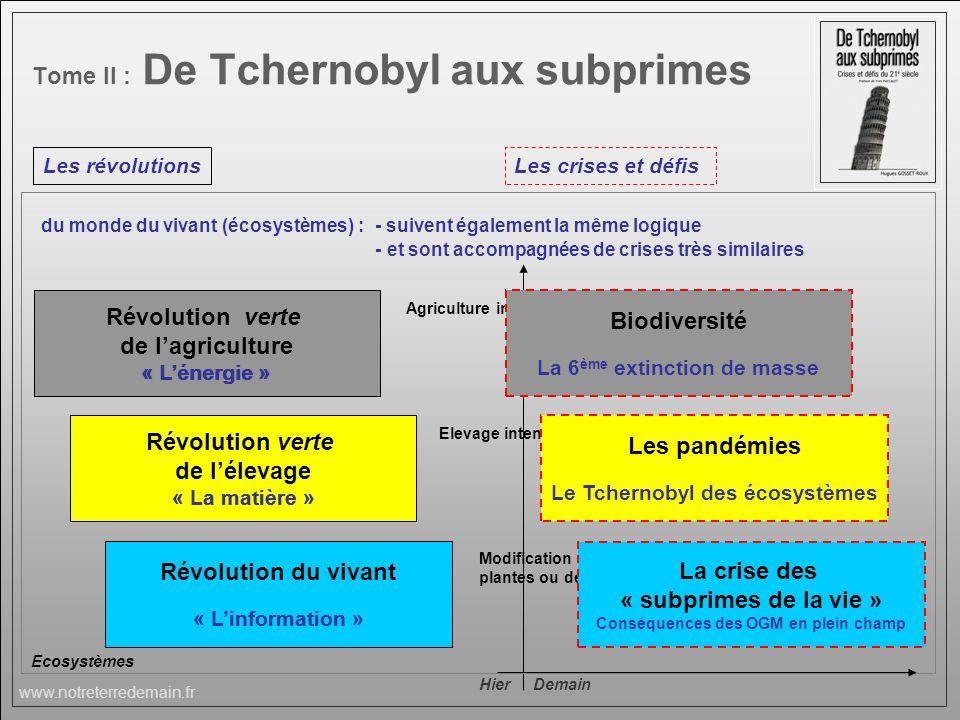 Tome II : De Tchernobyl aux subprimes