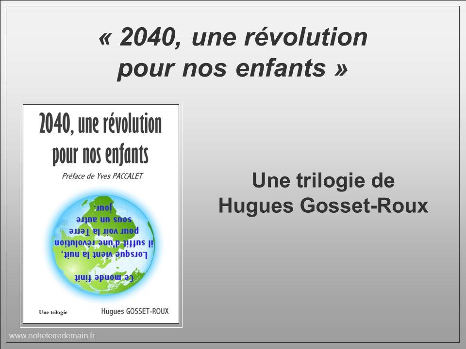 « 2040, une révolution pour nos enfants »