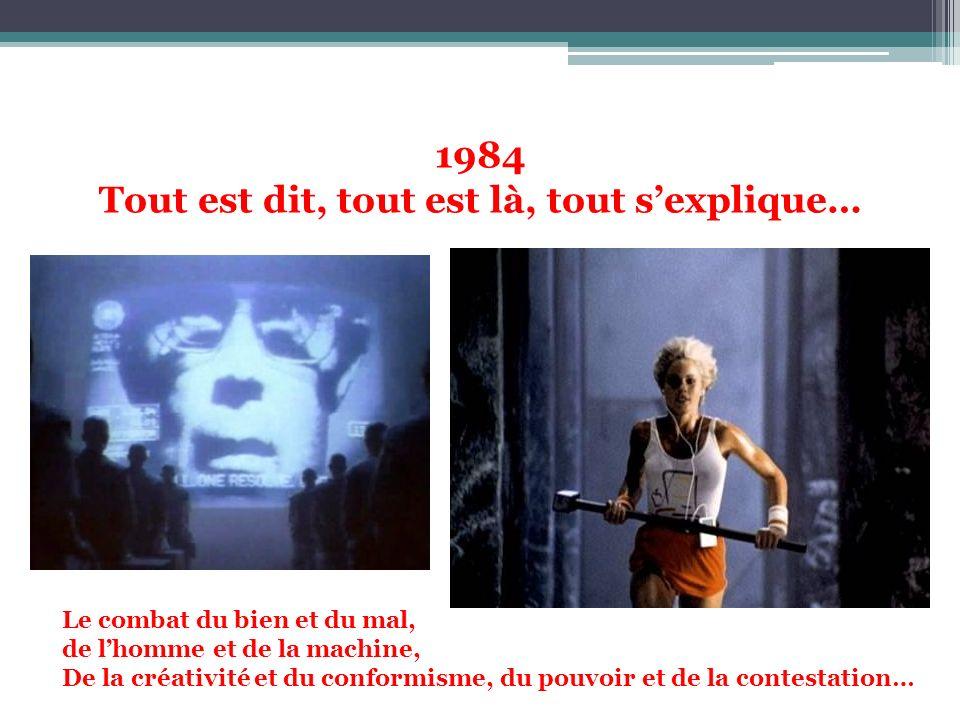 1984 Tout est dit, tout est là, tout s'explique…