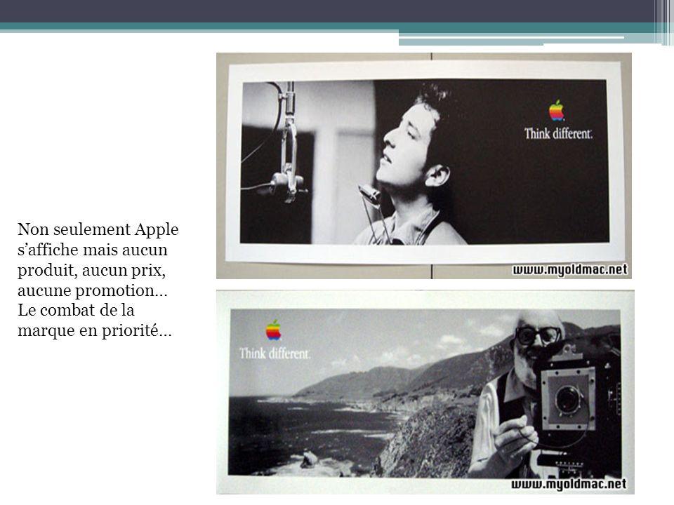 Non seulement Apple s'affiche mais aucun.
