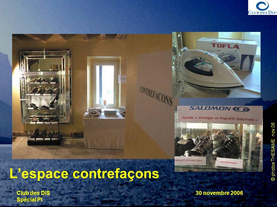 L'espace contrefaçons