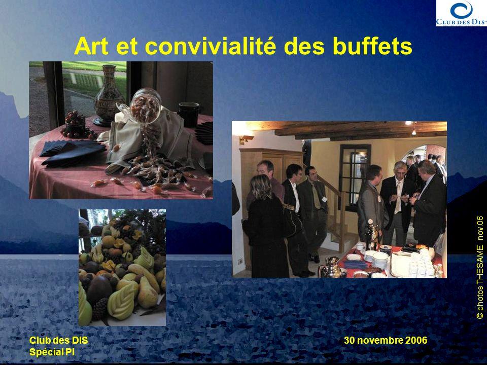 Art et convivialité des buffets