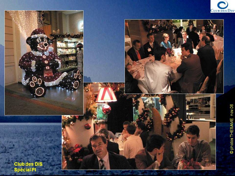 Club des DIS Spécial PI 30 novembre 2006