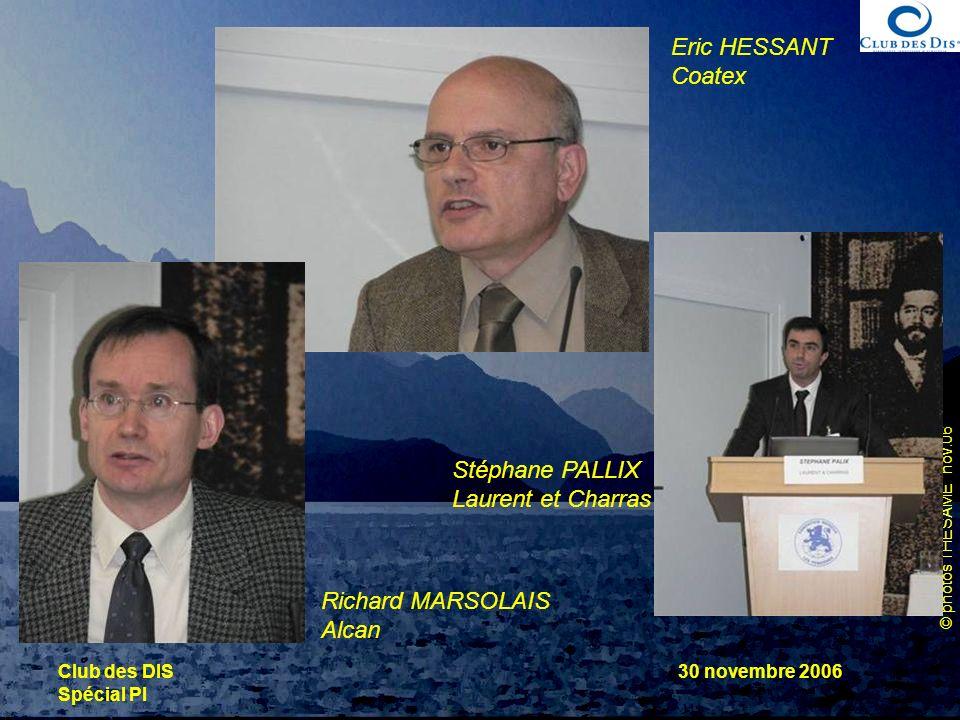Eric HESSANT Coatex Stéphane PALLIX Laurent et Charras