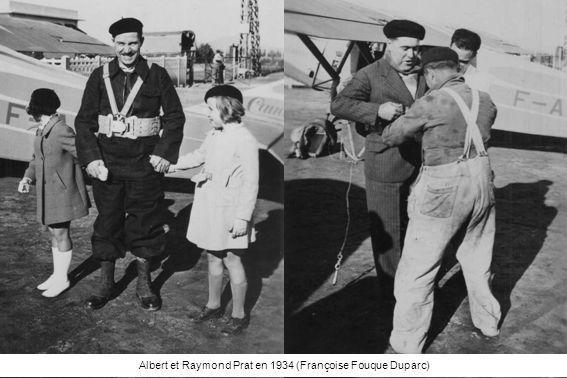 Albert et Raymond Prat en 1934 (Françoise Fouque Duparc)