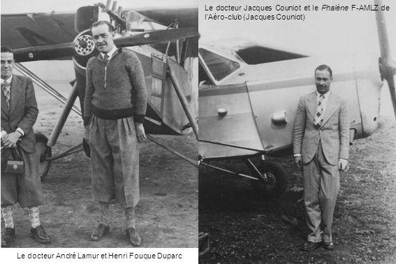 Le docteur André Lamur et Henri Fouque Duparc
